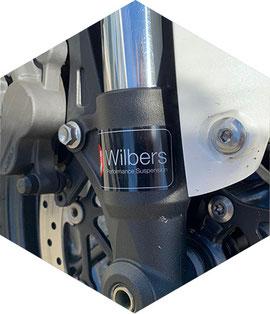 Becker-Tiemann Motorrad macht Motorradtieferlegungen mit Wilbers Fahrwerken