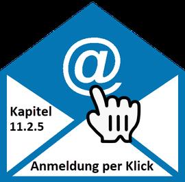 Bild Email-Logo: Kapitel 11.2.5 Dauer 4 Tage | Anmeldung per Klick