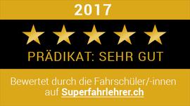 Prädikat Sehr Gut Superfahrlehrer.ch