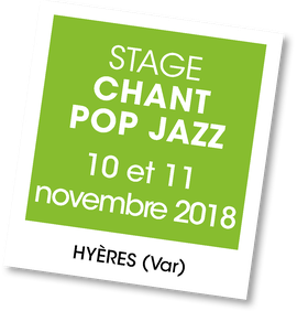 Stage de chant Pop Jazz, A vous de jouer
