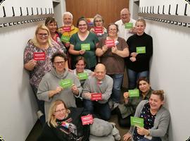 Teilnehmer der Adipositas Selbsthilfegruppe SHG-Altperlach in München