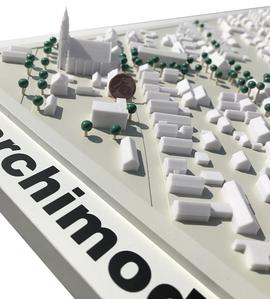 architektur-miniaturmodell-karlsruhe