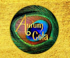 Aurum Cola Logo DIE GOLDENE COLA