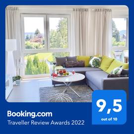 Booking.com Traveller Review Awards 2020: Ferienwohnung Saartal 9,6 von 10