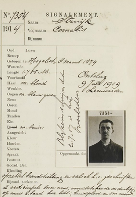 Signalementregister 1880- 1917
