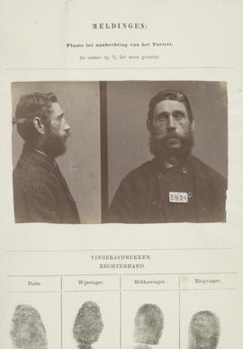 Signalementkaart Veenhuizen opname 25-06-1896