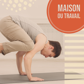 Cours privés de Yoga - Déplacement au travail et à domicile