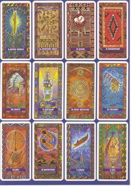 Les Oracles Amérindien, jeu de Femme Actuelle