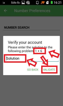 Conseguir Número Virtual