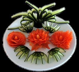 Gemüsespitzer-Varianten