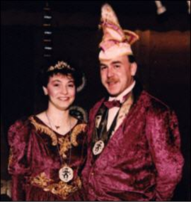 Prinzenpaar 1993 Michaela I. & Wolfgang I.
