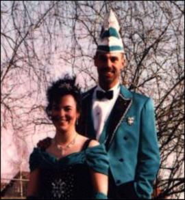 Prinzenpaar 1997 Tanja I. & Ulli I.