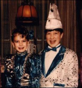 Kinderprinzenpaar 1993 Angelika I. & Markus I.