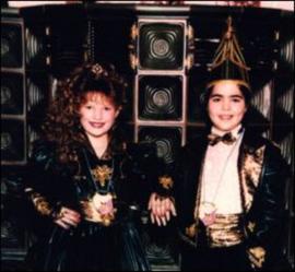 Kinderprinzenpaar 1995 Constanze I. & Martin I.