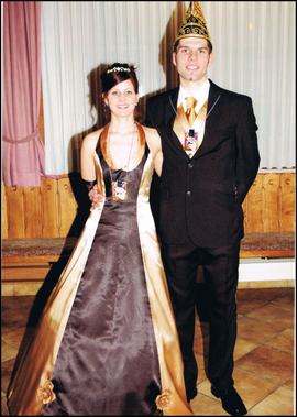Prinzenpaar 2010 Anita I. & Tobias I.