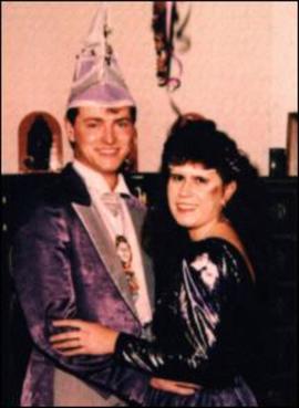 Prinzenpaar 1994 Evi I. & Sascha I.