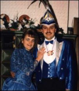 Prinzenpaar 1996 Nicole I. & Christian I.