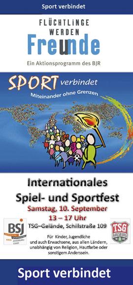 Sport- und Spielfest bei der TSG in Lechhausen 10.09.16 - Freiwilligen-Zentrum Augsburg