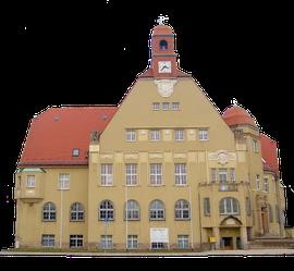 Rathaus der Stadt Heidenau in Sachsen