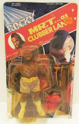Mr. T => Clubber Lang