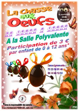 Affiche : Comité des Fêtes / Béthancourt en vaux.