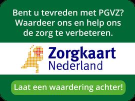 Waardeer PGVZ op Zorgkaart Nederland.