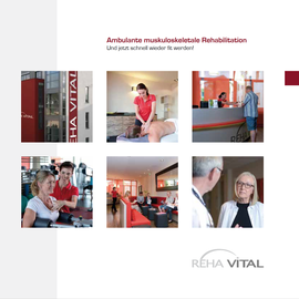 Rehavital | Broschüre Ambulante muskuloskeletale Rehabilitation