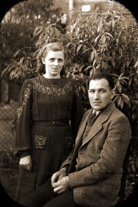 Erich Katterwe & Gertrud geb.  Knie