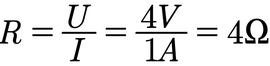 Beispiel für die Berechnung des elektrischen Widerstands