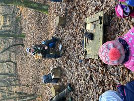 Die Arbeit mit Kindergruppen im Wald stellt die Hauptaufgabe dar