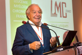 LMC France Dominique Maraninchi Professeur cancérologie IPC Marseille conference effet indésirable traitement auto déclaration patient