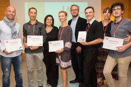 Trophées LMC France Norbert Nabet Directeur Adjoint Agence Régionale Santé Paca ARS Mina Daban Aude Charbonnier hématologist hematologue