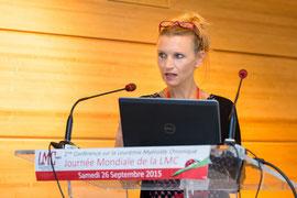 Docteur Aude Charbonnier hématologue Présidente Conseil Scientifique LMC France LMCoach