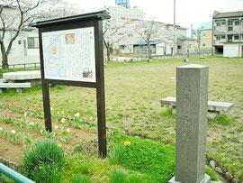 関東管領上杉家屋敷跡。