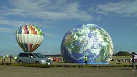 リアル地球気球