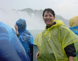 Gebadet auf der Maid of the Mist