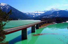 Sylvensteinseebrücke