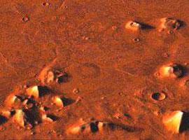 Marsgesicht und Pyramiden... die Cydonia-Region auf dem Mars (NASA)