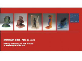 Hartmann Greb Studioglas in der CCAA GLASGALERIE KÖLN, Glaskunst, Studioglas, Pate-de-verre