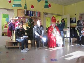 St. Nikolaus im Kindergarten