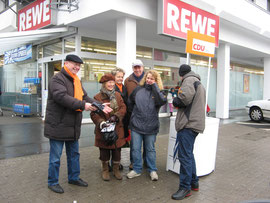 18.2.2012  /  CDU-Info-Stand zur OB-Wahl 2012