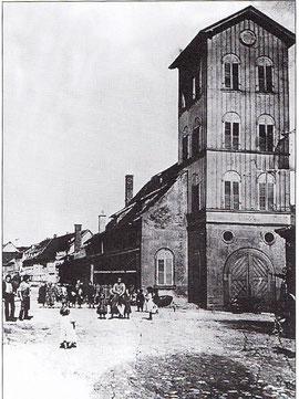 Die Kilianskapelle kurz vor ihrem Abriss 1907 - Danke an das Stadtarchiv