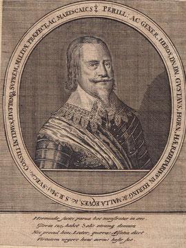 Feldmarschall Gustav Horn (22.Oktober 1592 - 10. Mai 1657)