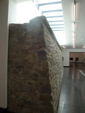 Die Schanze im Untergeschoss der Kunsthalle