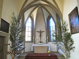 Der alte Chor der St.Salvatorkirche - ehemalige Liebfrauenkirche