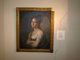 Das Portrait Margarethe Geigers im stadtgeschichtlichen Museum in Schweinfurt