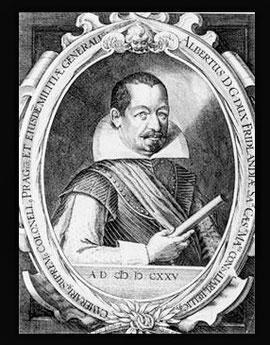 Ende 1625 zog Albrecht Wallenstein mit seinen Truppen nach Schweinfurt. Seine Truppen lagerten auf Oberndorfer Wiesen