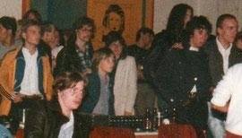 Publikum bei einem Live-Auftritt von Elegant