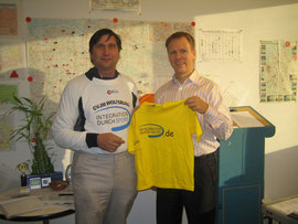 Frank-Michael Mücke (rechts) und Manfred Wille