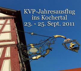 Jahresausflug der Tumlinger Geschäftsfreunde ins Kochertal. Foto Rainer Sturm